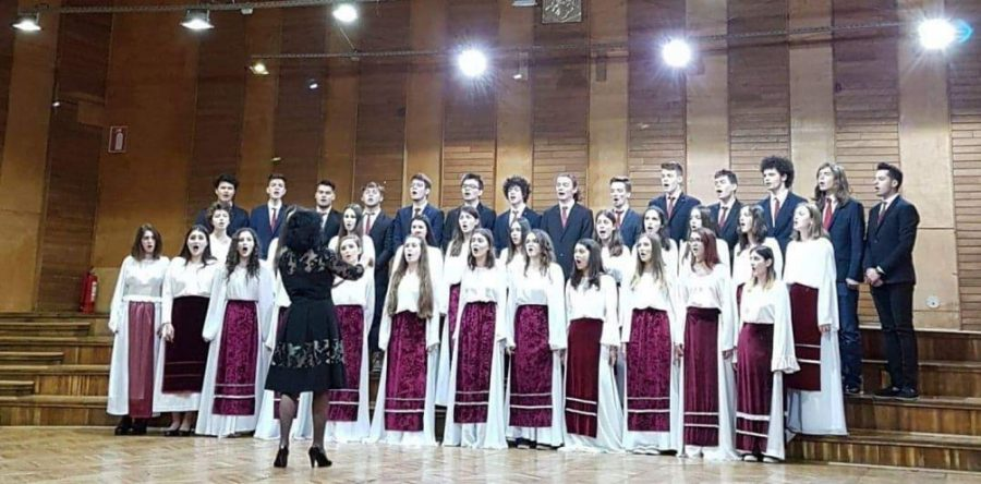 Corala Brătianu – calificare la etapa nationala